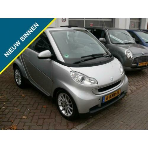 Smart fortwo cabrio 1.0 mhd Passion Automaat Airco!!
