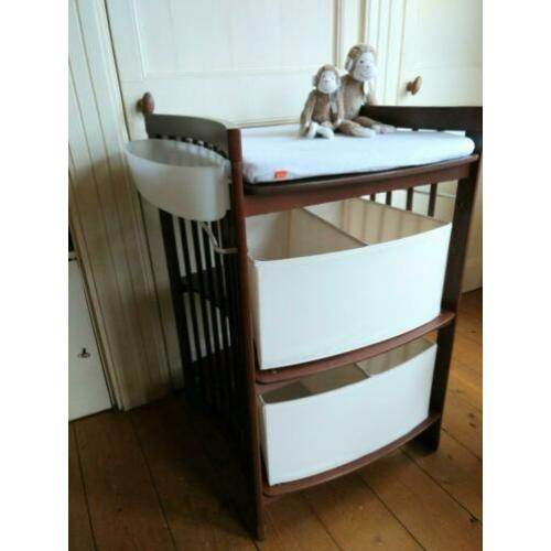 Prachtige Stokke Commode Care Walnoot
