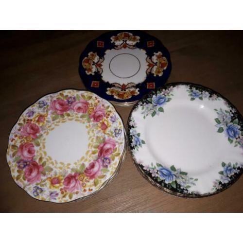 Leuke Royal Albert bordjes / side plates
