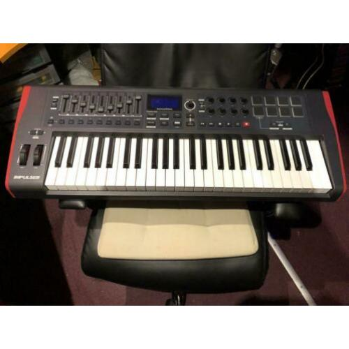 Novation impuls 49 nieuwstaat