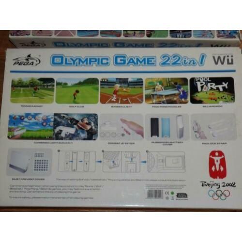 2x Wii Olympic Game toebehoren