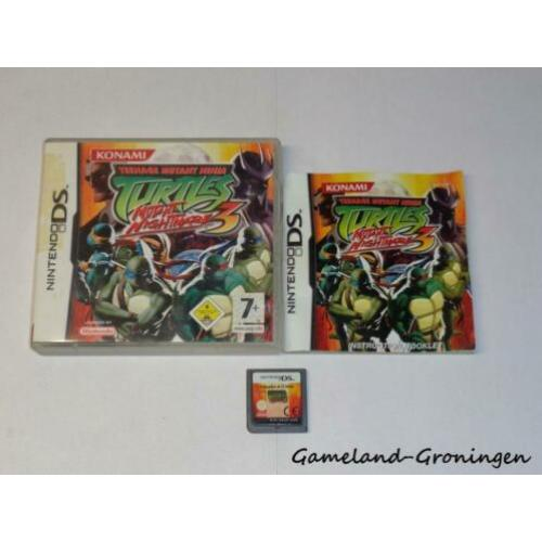 Turtles 3 (NDS) Compleet