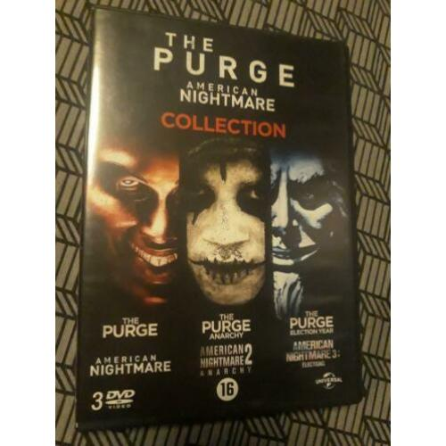 3 DVD collection The Purge 1,2 en 3