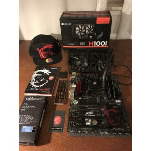 Upgradeset MSI moederbord + i7-4770K + Waterkoeling + 16GB