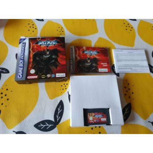 Nintendo Game Boy Advance cib Batman Vengeance