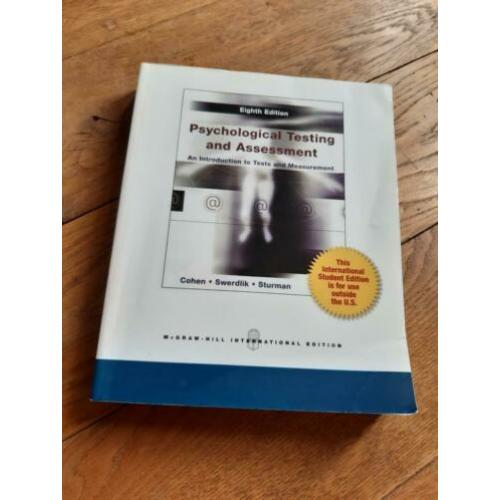 Psychological Testing and Assessment, 8th ed.