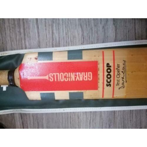 Cricket bat vintage